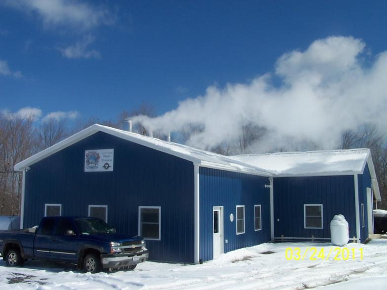 New Sugarhouse Built For The 2011 Season Near Skaneateles NY