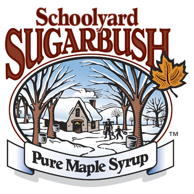 Schoolyard Sugarbush Pure Maple Syrup Logo
